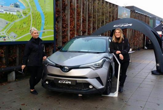 C-HR at Lomond Shores with Helensburgh Toyota